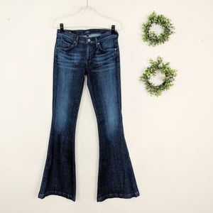 AGOLDE | Madison Dark '70s Flare Jeans 28 Long